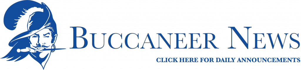 Buccaneer News Click here for the Daily Announcements